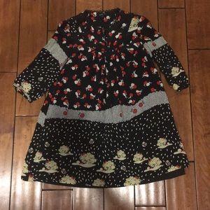 Anna Sui Tunic Dress silk